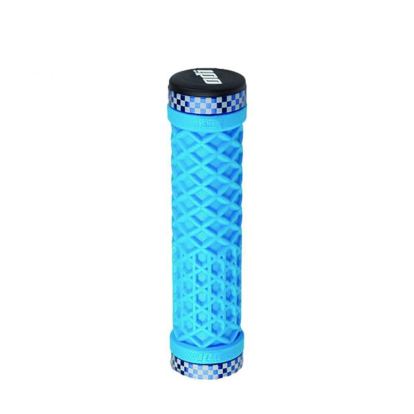 Грипсы Vans® Lock-On Grips, Light Blue w/Blue Classic Checker Etched Clamps