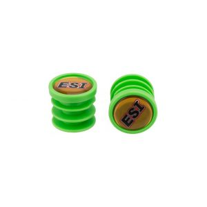 Баренды, заглушки для руля ESI Bar Plugs, Green, зеленые