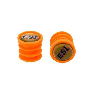 Баренды, заглушки для руля ESI Bar Plugs Orange, оранжевые