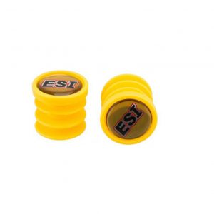 Баренды, заглушки для руля ESI  Bar Plugs Yellow, желтые