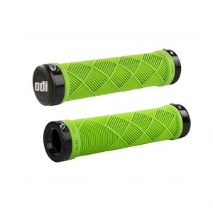 Грипсы ODI Cross Trainer  MTB Lock-On Bonus Pack Lime Green w/Black Clamps
