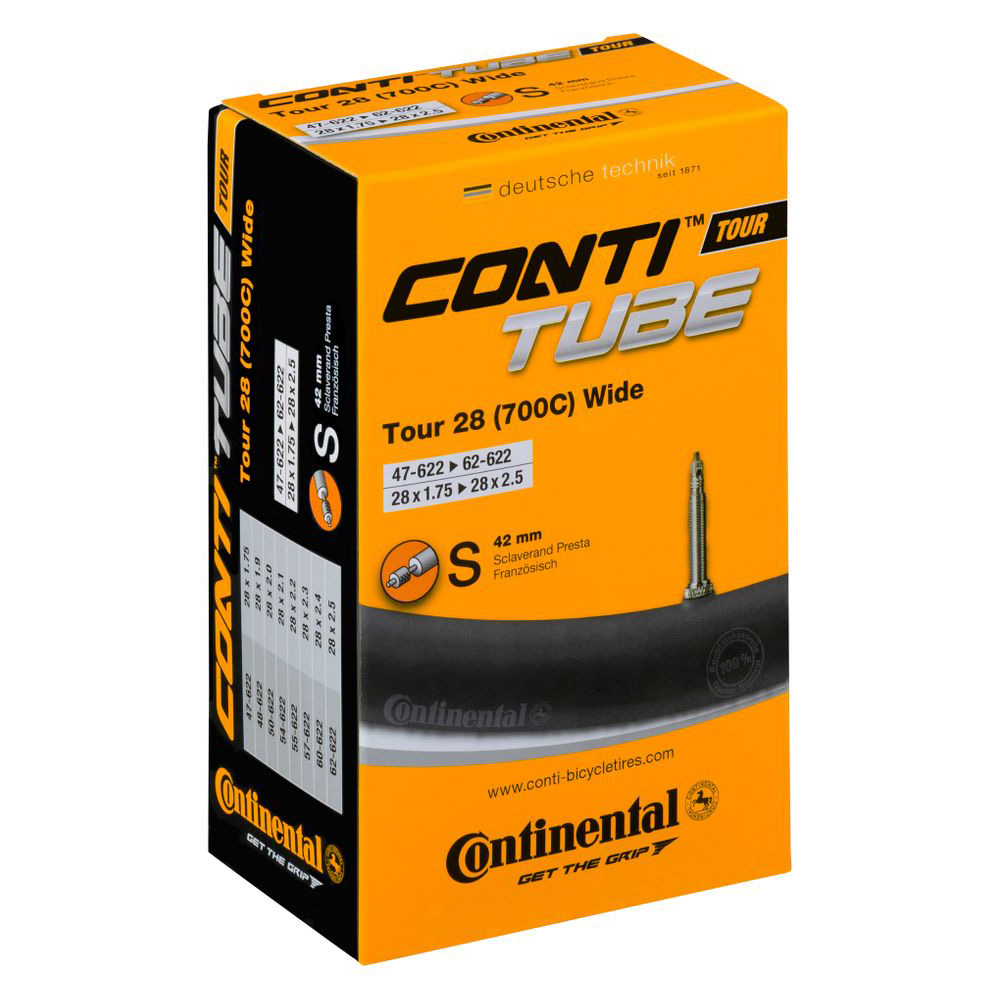 """Камера Continental Tour Tube Wide 28"""" S42 RE"""