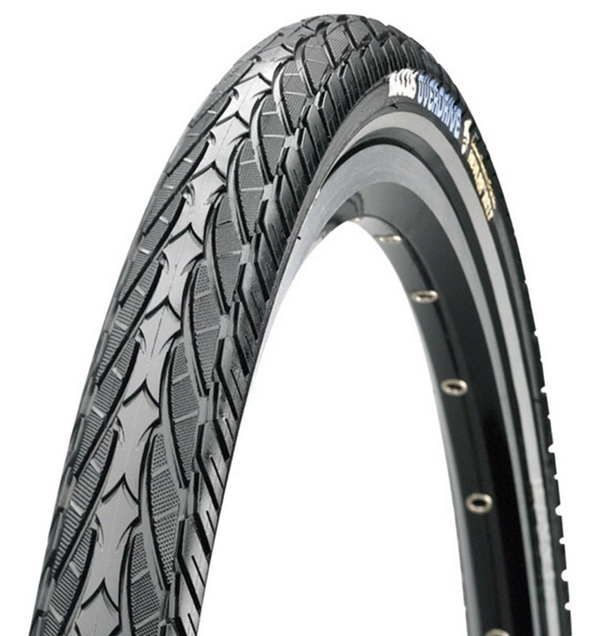 Покрышка 700x40C MAXXIS (ETB96135500) Overdrive, MaxxProtect 27TPI, 70a, Wire